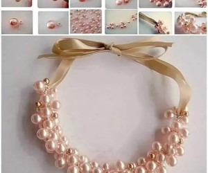 diy, necklace, and Easy image