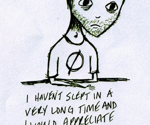 art, drawing, and insomnia image