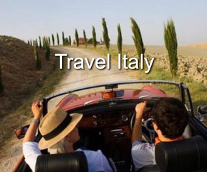 italy, road, and car image