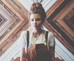 beauty, style, and bun image