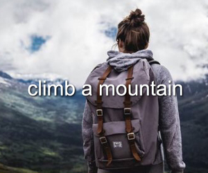 adventure, girls, and mountains image