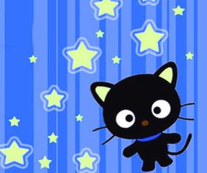 blue, chococat, and kawaii image