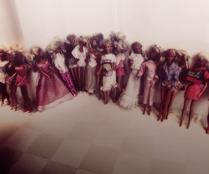 vintage, barbie, and trash image