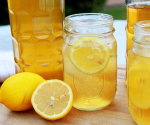 lemon and drink image
