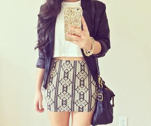 skirt, fashion, and girl image