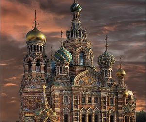 landscape, russie, and saint-petersbourg image
