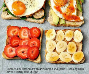 bread, Easy, and fruit image