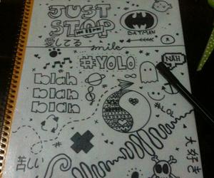 batman, blah, and draw image