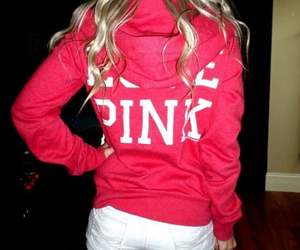 blonde, fashion, and hoodie image