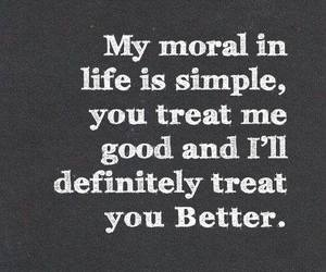 quote, moral, and life image