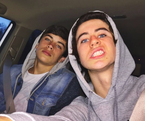 nash grier, hayes grier, and nash image