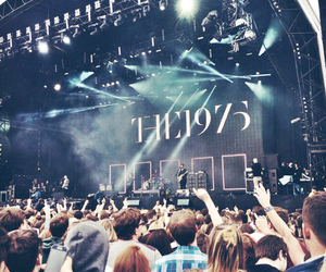the 1975, concert, and music image