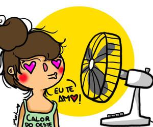 calor, girl, and summer image