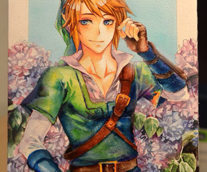 link, picture, and the leyend of zelda image