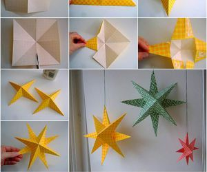 diy, Paper, and stars image