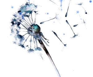 art and blue image