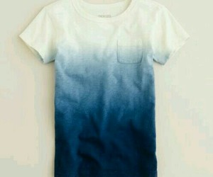 shirt, blue, and white image