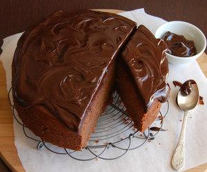 cake, chocolate, and pb & chocolate image