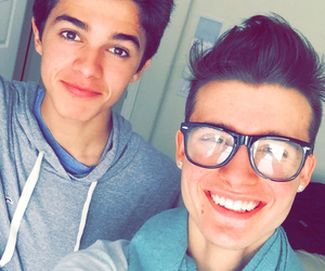 chris collins, christian collins, and snapchat image