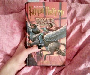 harry potter, hp, and books image