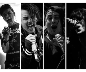 amazing, bands, and black and white image