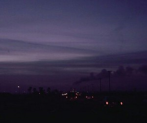 sky, light, and dark image