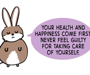 happiness, take care of yourself, and health image