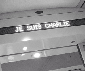 grunge, je suis charlie, and alone image