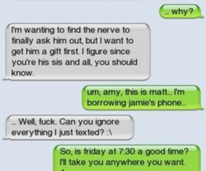 funny, texts, and cute image