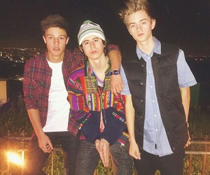 nash grier, cameron dallas, and jack johnson image
