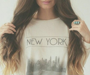 hair, fashion, and new york image