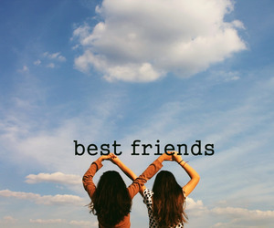 besties, colors, and friendship image
