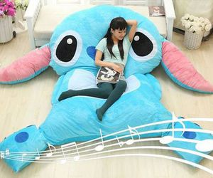 stitch, bed, and room image