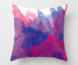 colorful, pillow, and watercolor image