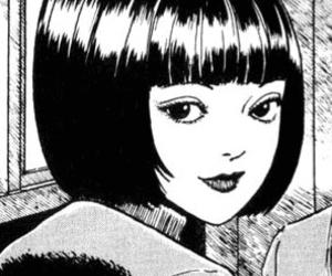 girl, horror, and junji ito image