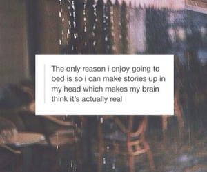 quotes, bed, and sleep image