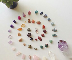 crystal, colorful, and hipster image