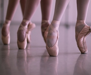 art, ballerinas, and love it image