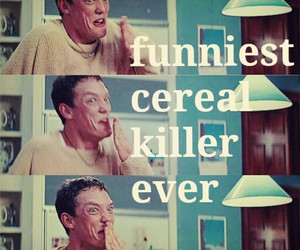 funny, killer, and movie image