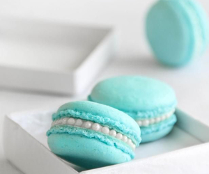 macaroon, teal, and frenchpastery image