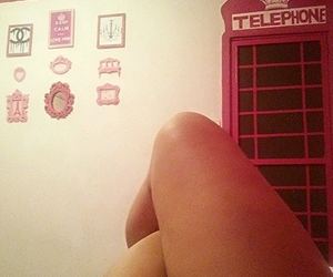 home, telephone, and inspiration image