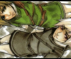 link and dark link image