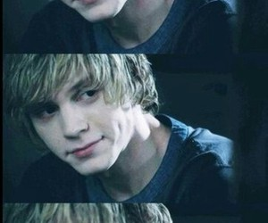 evan peters, ahs, and tate image