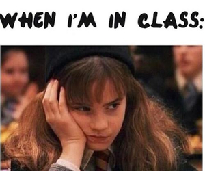 harry potter, class, and funny image