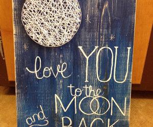 diy cuadro luna image
