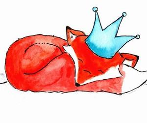 art, fox, and ohhellodear image