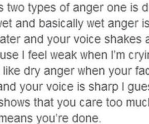 anger, cry, and quote image