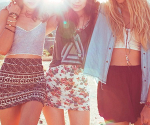 summer, friends, and everything image