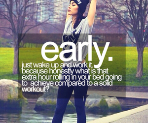 workout, motivation, and fitness image