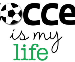 life and soccer image